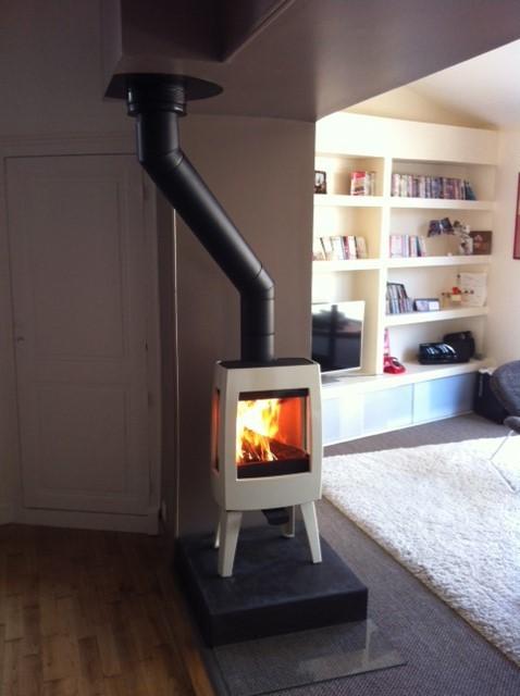 flamdeco installateur p ele et chemin e laval. Black Bedroom Furniture Sets. Home Design Ideas