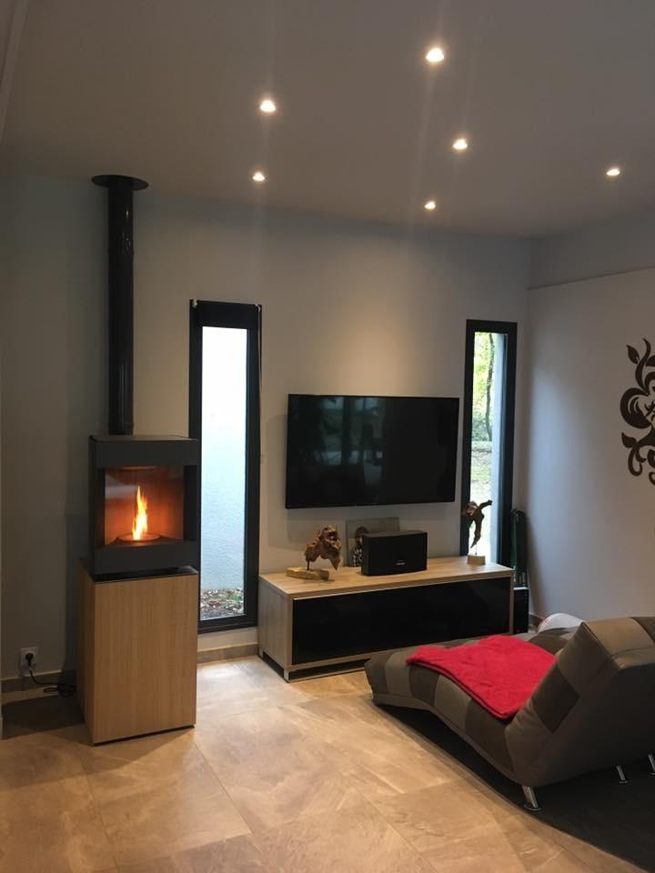 sarl c t flammes installateur p ele et chemin e bout. Black Bedroom Furniture Sets. Home Design Ideas