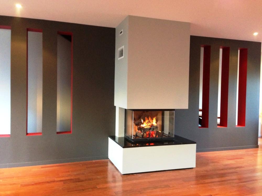 chemin es pierre et feu installateur p ele et chemin e. Black Bedroom Furniture Sets. Home Design Ideas