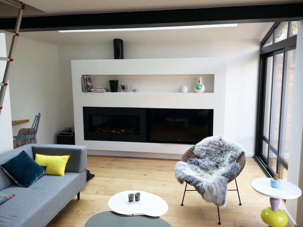 Foyer M Design Luna : CÔtÉ cheminÉes installateur pôele et cheminée à le rheu