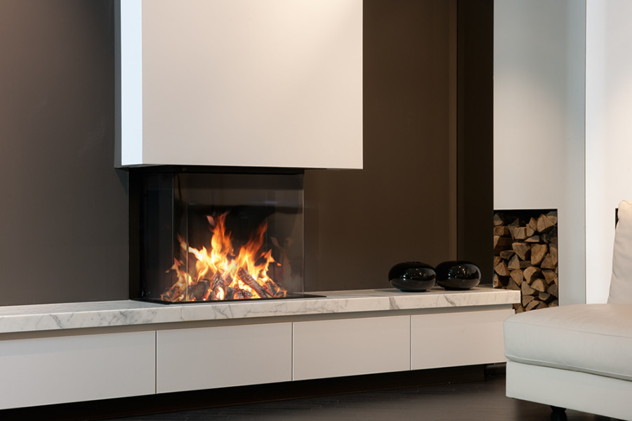 Foyer M Design Luna : Hexa installateur pôele et cheminée à cholet