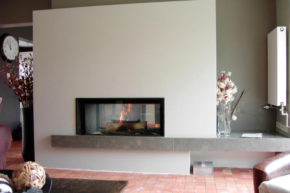 Foyer M Design Luna : Les cheminÉes de penhoat installateur pôele et cheminée