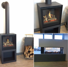 Appariels au  gaz naturel  du showroom